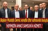 Başkan Mustafa Demir: Amacımız Samsun'a Hizmet