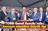 TOBB Genel Kurulu'nda Samsun standına büyük ilgi