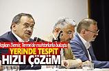 Başkan Demir Terme'de Muhtarlarla Buluştu