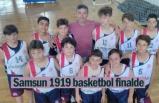 Samsun 1919 basketbol finalde
