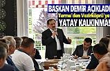 Başkan Demir, Terme'den Vezirköprü'ye Yatay Kalkınma