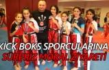 Kick Boks Sporcularına sürpriz moral ziyareti
