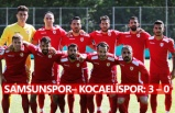 Samsunspor ilk hazırlık maçını kazandı
