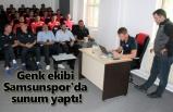 Genk ekibi Samsunspor'da sunum yaptı!