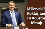 Milletvekili Köktaş'tan 14 Ağustos Mesajı - Samsun Haberleri