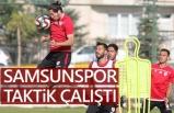 Samsunspor Pazarspor ile hazırlık maçı yapacak