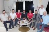 Gümüşhanesporlu yöneticilerden Samsunspor'a ziyaret