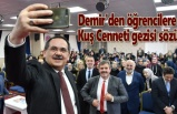 Başkan Demir Emine Ahmet Yeni Kız Anadolu İmam Hatip Lisesi'nde