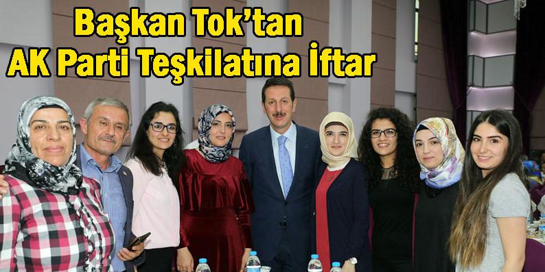 AK Parti İlkadım Teşkilatı iftarda buluştu