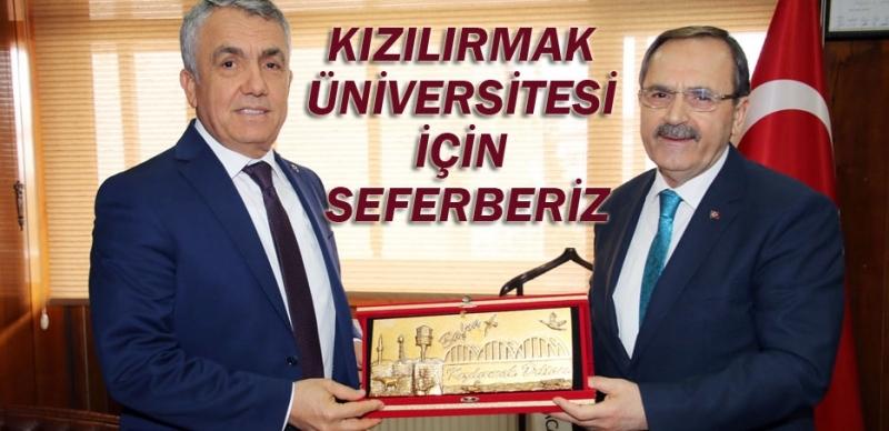 Bafra'da 'Üniversite' zirvesi