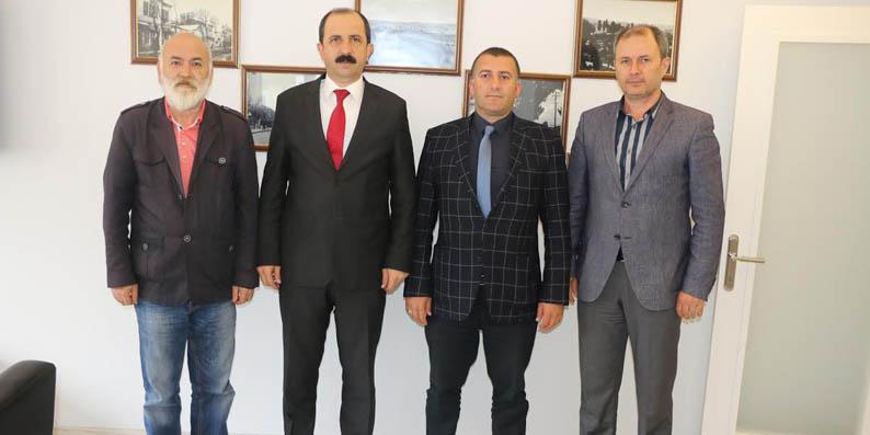 Başkan Göksel 19 Mayıs Gazeteciler Cemiyeti'ni ziyaret etti