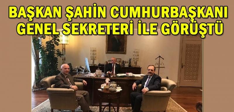 Başkan Zihni Şahin Cumhurbaşkanlığı Külliyesi'nde