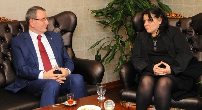 Çek işadamları işbirliği ve ortak proje için Samsun'a gelecek