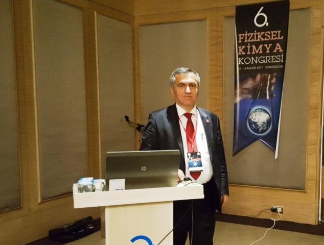 Fiziksel Kimya Kongresine OMÜ'den destek