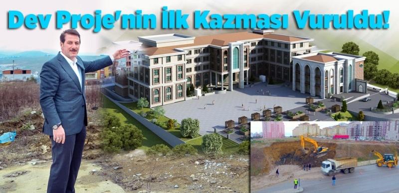 İlkadım Yeni Belediye Hizmet Binası'nın Startı Verildi