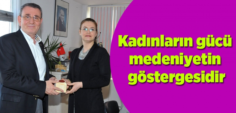 Murzioğlu'ndan kadın personele hediye