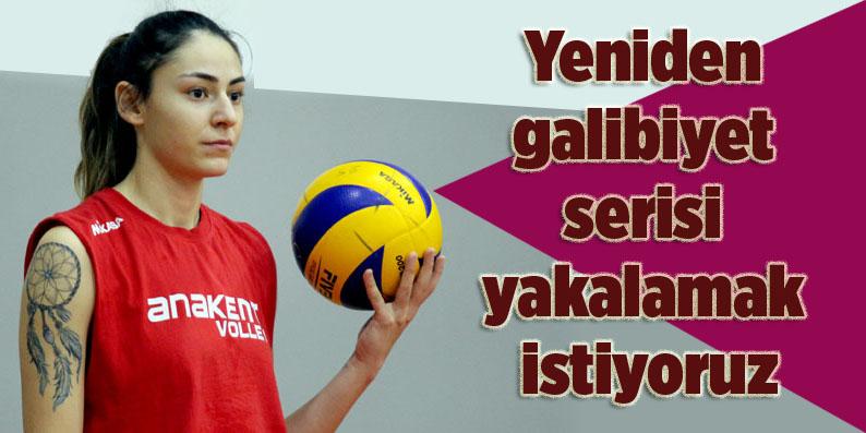 Samsun Büyükşehir Belediyesi Anakent Spor galibiyet peşinde