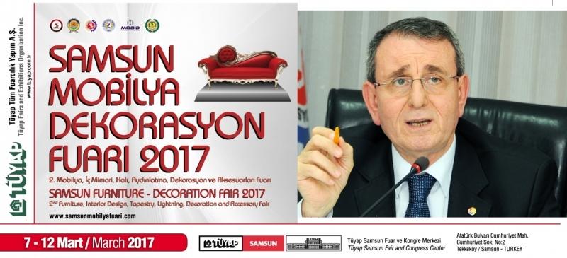 Samsun Mobilya Dekorasyon 2017 Fuarı'na davet