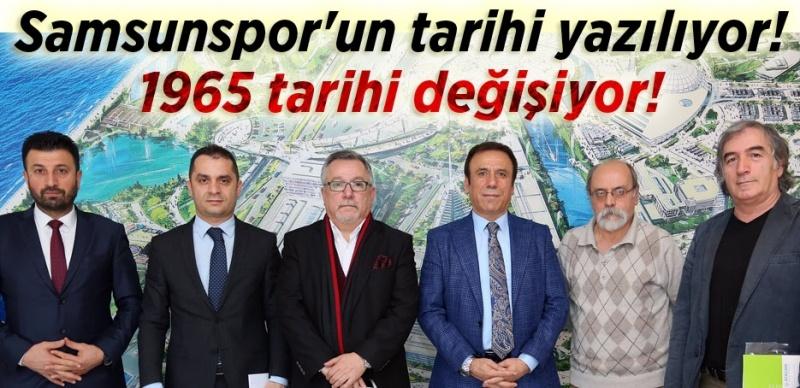 Samsunspor'un hafızası bu kitapta olacak!