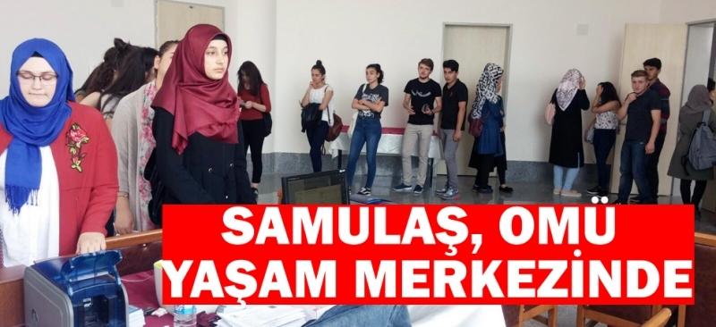 SAMULAŞ'tan OMÜ'lü öğrencilere SAMKART