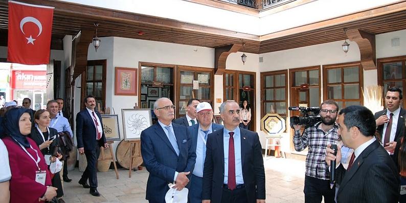 Tarihi Kentler Birliği üyeleri Sivas'ı gezdi