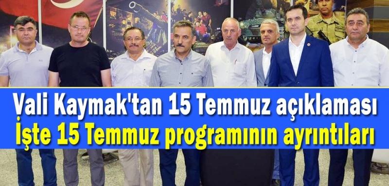 Vali Kaymak'tan kamu kurumlarına uyarı!