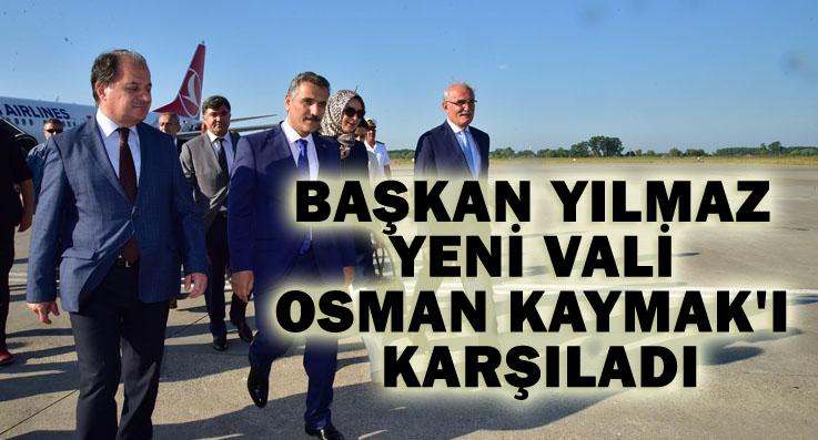 Vali Osman Kaymak Samsun'a geldi