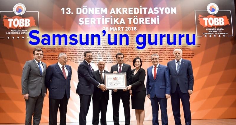 Ticaret Borsası Samsun'un gururu oldu