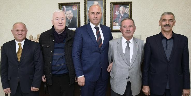Tonyalılardan Başkan Togar'a ziyaret
