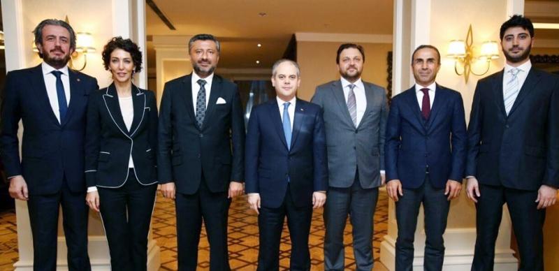 TOSFED Yöneticileri Bakan Kılıç'ı Ziyaret Etti