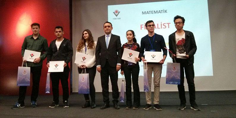 TÜBİTAK 49. Lise Öğrencileri Arası Araştırma Projeleri Yarışması Bölge Sergisi Finalinde Samsun rüzgârı
