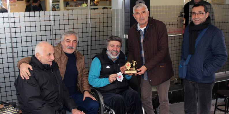TÜRFAD'tan Emin Kar'a anlamlı ziyaret