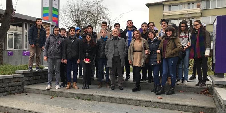 Turizm eğitimi alan öğrenciler Samsun'u tanıyor
