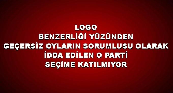 TURK Parti seçime katılamıyor