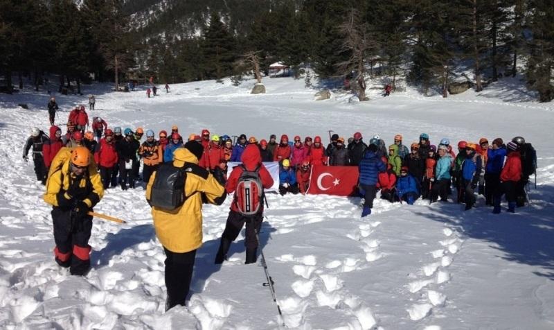 Türkiye Dağcılık Federasyonu'nun Zigana kampı