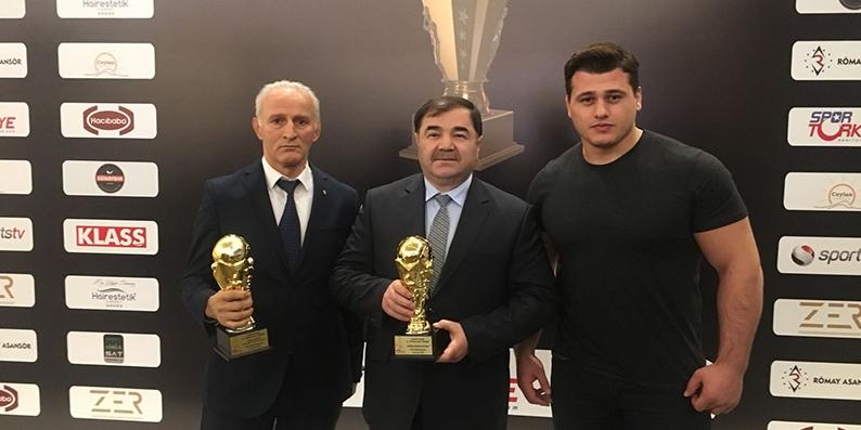 Türkiye spor ödüllerine güreş damga vurdu