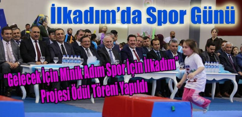 Türkiye'de bir ilk! Minik sporcular İlkadım'da yetişiyor