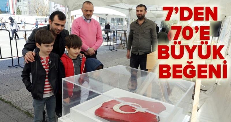 Türkiye'de ilk ve tek bayrak sergisi İlkadım'da