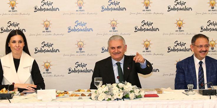 Türkiye'nin en önemli mimarları Başbakan Yıldırım ile buluştu