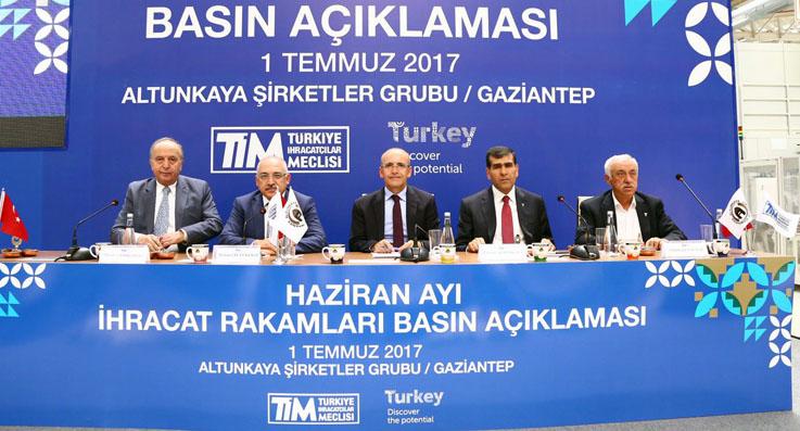 Türkiye'nin haziran ihracatı 12,1 milyar dolar oldu