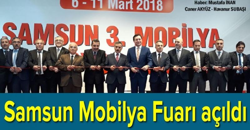 TÜYAP Samsun Mobilya Fuarı açıldı