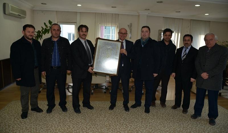 Ufka yolculuk komisyonu Başkan Kul'u ziyaret etti