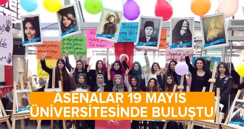 Ülkücü Kadınlar 19 Mayıs Üniversitesi'nde buluştu