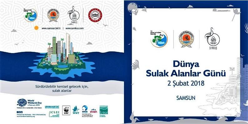 Ulusal Sulak Alanlar Çalıştayı Samsun'da Yapılacak