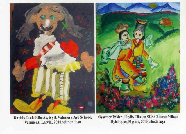 Uluslasarası Çocuk Resim Yarışması Sergisi Samsun'da