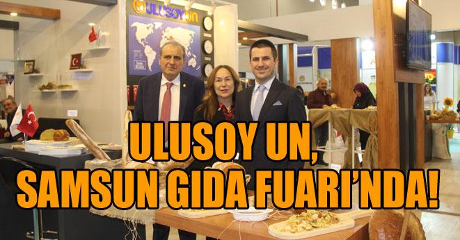 Ulusoy Un'a Gıda Fuarı'nda büyük ilgi