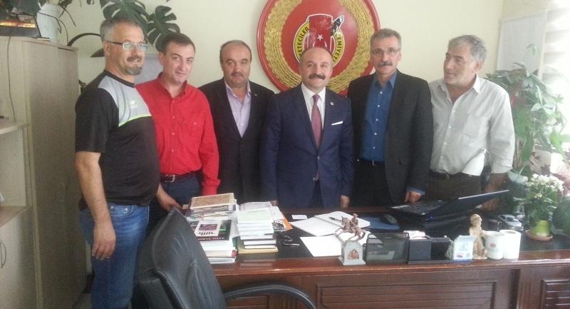 Usta Gazeteciler Cemiyeti'ni ziyaret etti