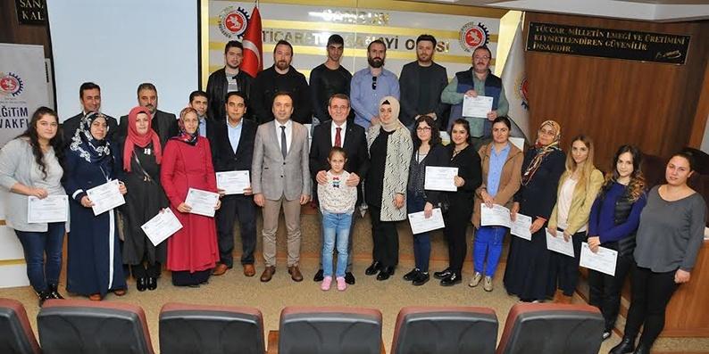Uygulamalı Girişimcilik Eğitimi kursu tamamlandı