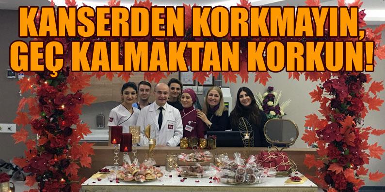 VM Medical Park Samsun Hastanesi'den kanser hastalarına moral