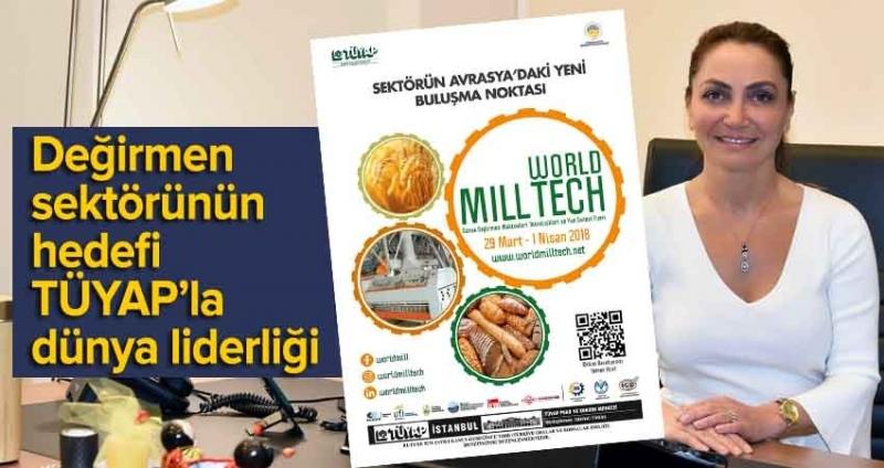 World Mill Tech Fuarı 29 Mart'ta açılıyor